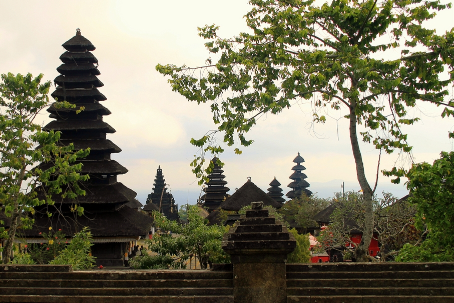 Pura Besakih, neposvátnější chrám na Bali